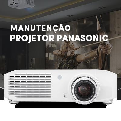 manutenção de projetores Panasonic