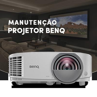 Manutenção de Projetores benq