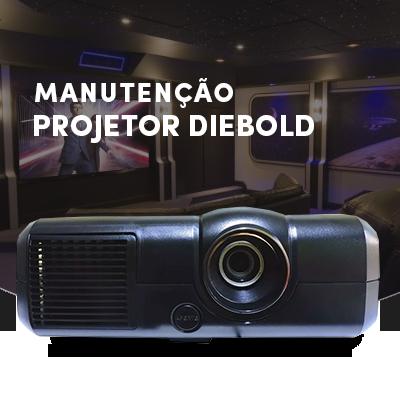 manutenção de projetores Diebold
