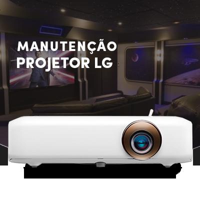 manutenção de projetores LG