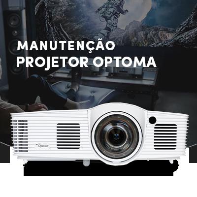manutenção de projetores Optoma